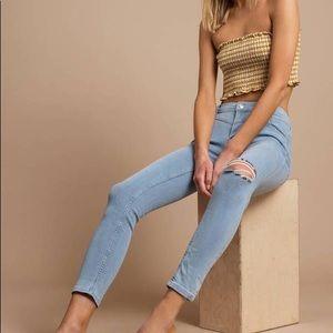Free People Mara Skinny Jeans 27 NWT